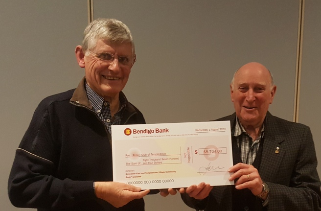Bendigo Bank Cheque